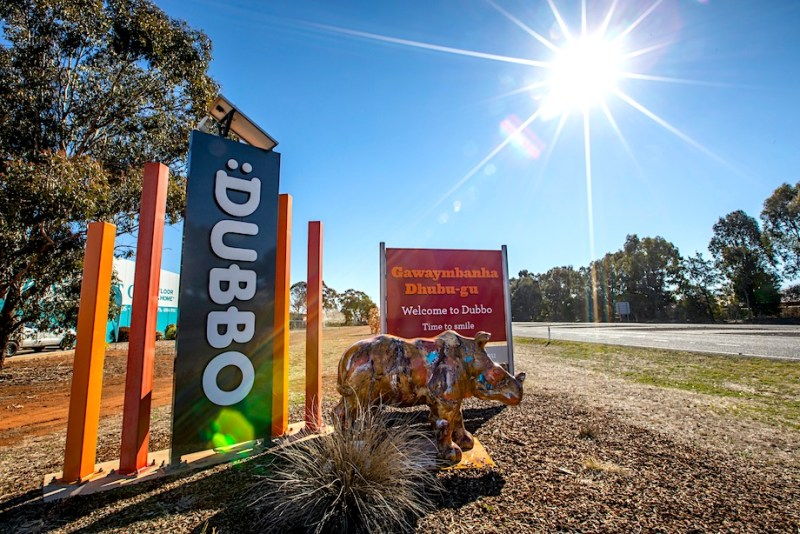 Welcome Sign, Dubbo