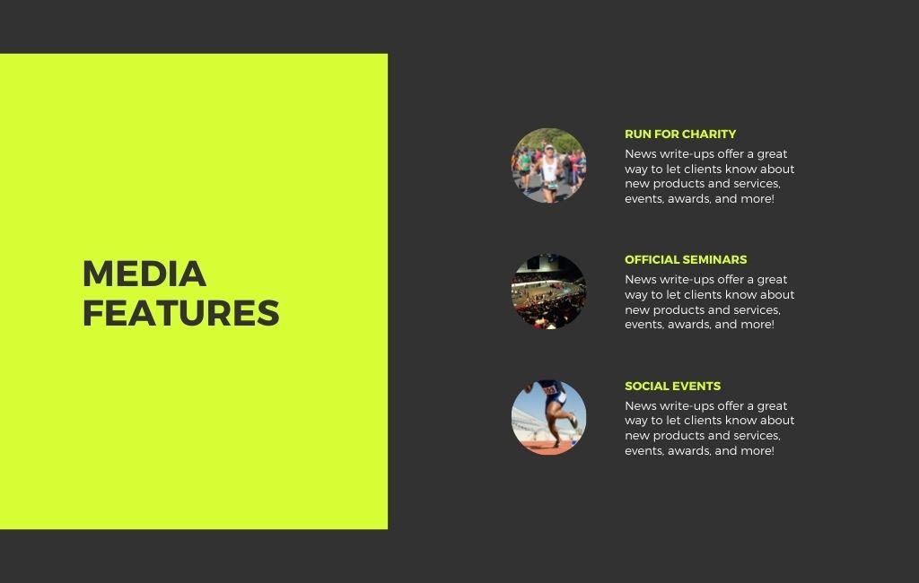 Running Event Website 4