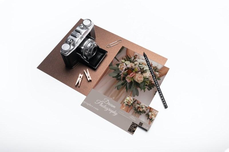 Layout of wedding website in print