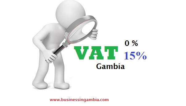 Gambia VAT rate