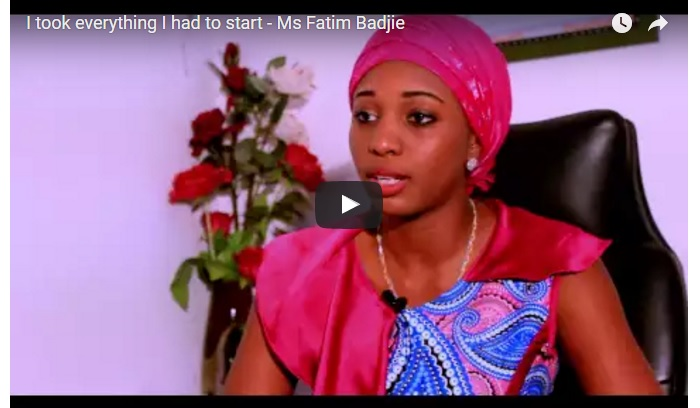 How Fatim Badjie Started Ace Communications Executive