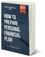 How to prepare personal financia plan