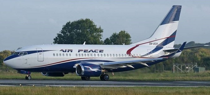 air peace airline gambia