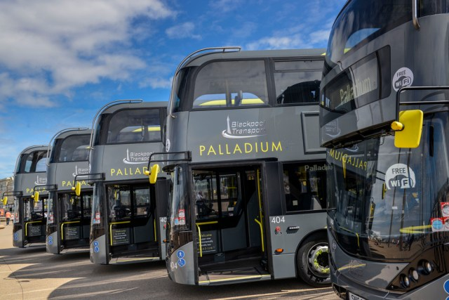 Blackpool Transport orders 25 new buses for 2017