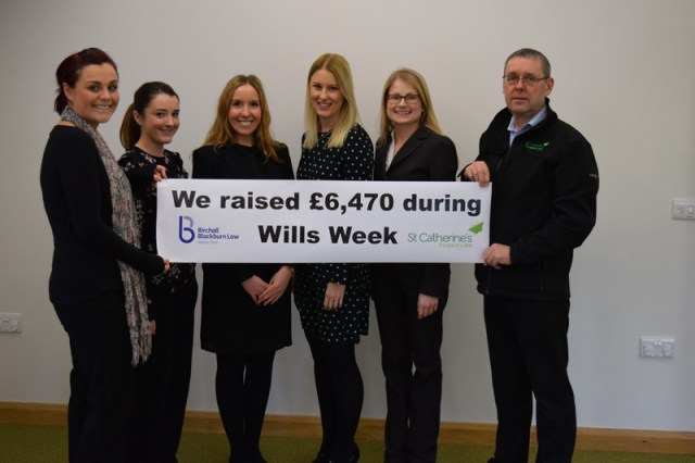Wills Week - Emma Jacovelli (St Caths) Amy Worthington, Lucy Fowler, Michelle Fairhurst, Sarah McIntyre and Norman Cutler ( St Caths)