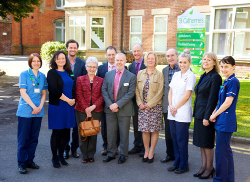 St Catherine's Hospice and UCLan MOU group