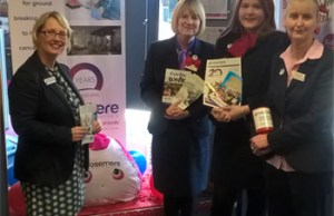 Building Society Staff are Off Colour for Rosemere Fundraiser