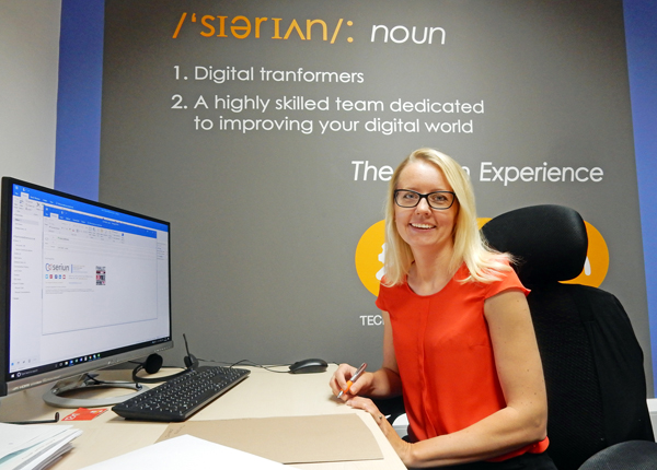 SERIUN TAKE ON NEW HEAD OF ACCOUNTS