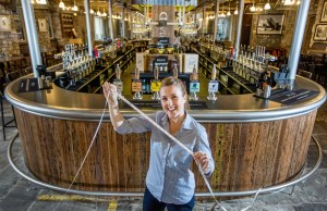 BEER HALL CLAIMS LONGEST BAR RECORD