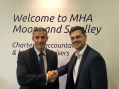 Danny Houghton, Partner, MHA Moore and Smalley and Sam Whitear,