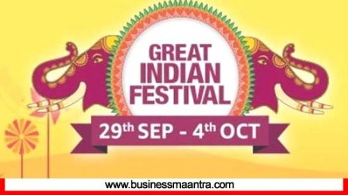 Amazon Great Indian Festival Sale 2019 bumper discount