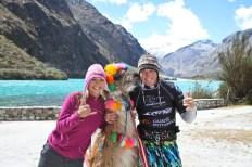 Marie Desandre Navarre, Kite surfeuse professionnelle, membre du team Sosh, au Pérou