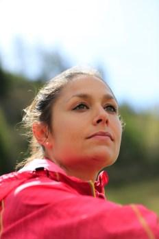 Sissi Cussot, team trail Asics