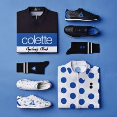 Le Coq Sportif x Colette Cycling Club