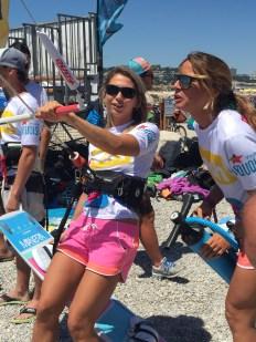 Pro Kite Surfer Marie Desandre Navarre
