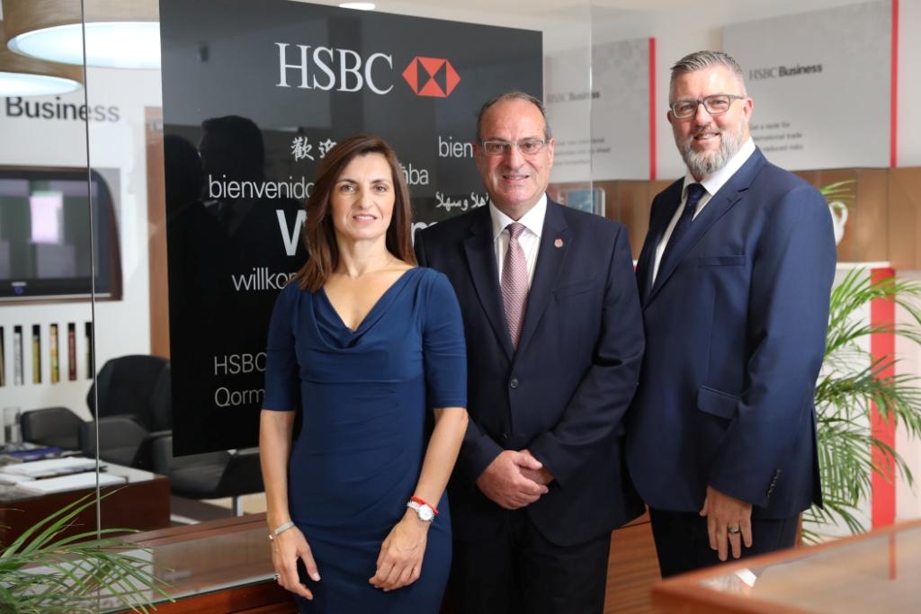 HSBC Malta names new commercial head, new risk chief