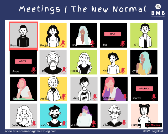 The new normal for meeting during work from home