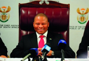 Chief Justice Mogoeng Mogoeng at the launch