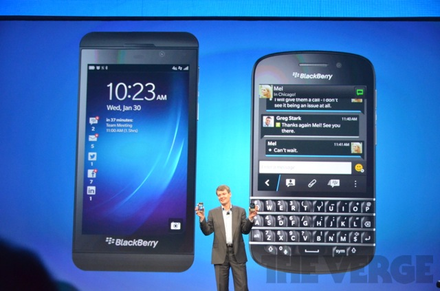 BB Z10 and BB Q10