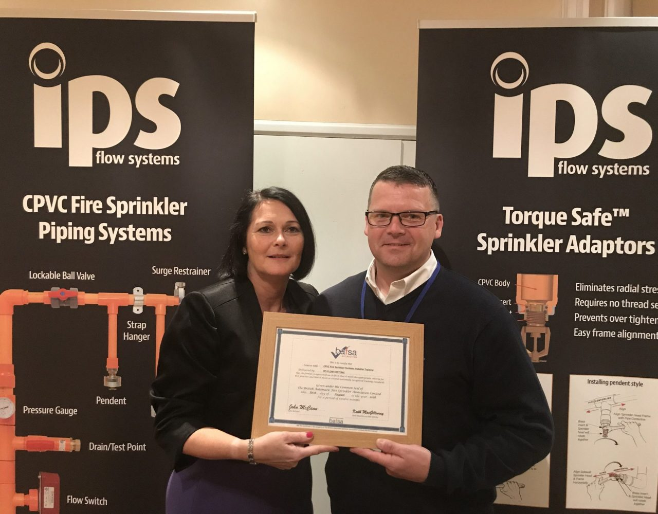 Seaham company IPS Flow Systems wins top industry award