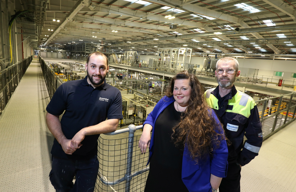 Paint manufacturer partners with college to upskill workforce