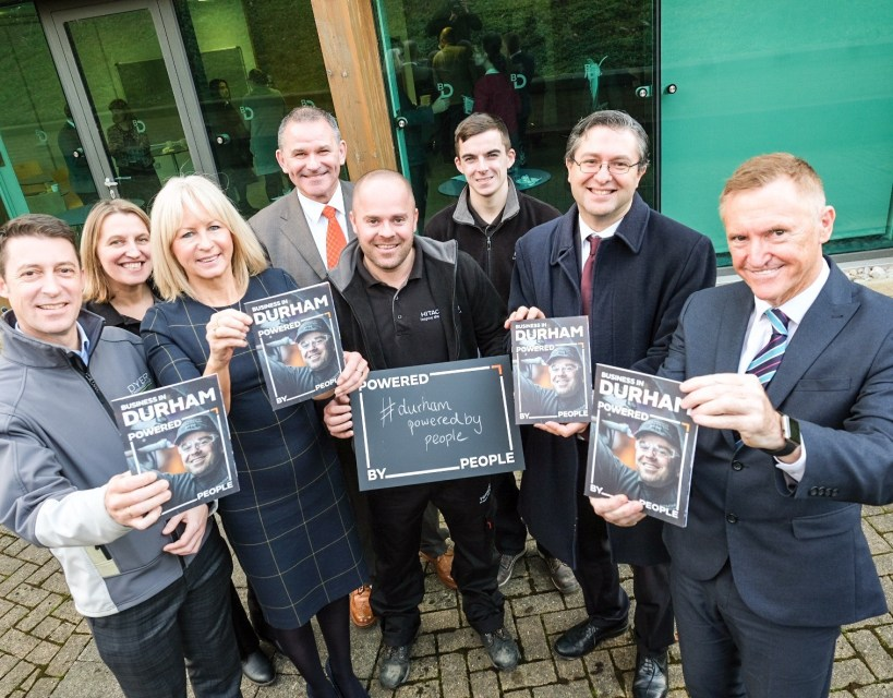 Businesses and people come together to showcase what makes County Durham great
