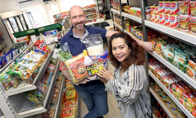 Husband and wife team open up Filipino food shop