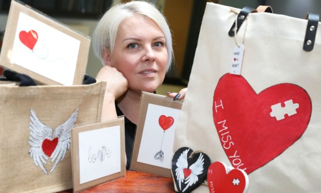 Sunderland artist sets up heartfelt business following the unexpected death of her sister