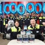 AkzoNobel celebrates milestone production target as Ashington site turns two
