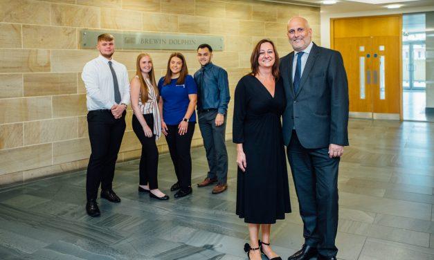 Apprenticeship recruitment helps Brewin Dolphin swim to success