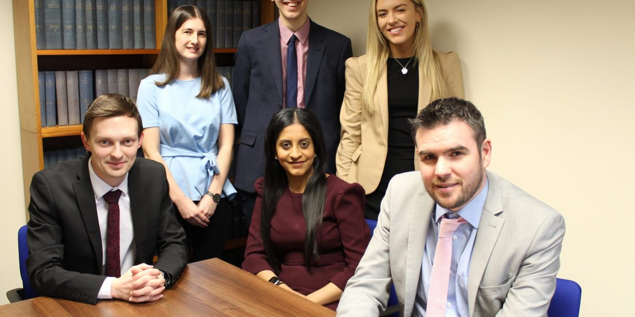 Flurry of appointments for growing Teesside law firm
