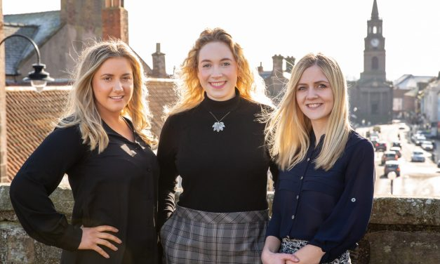 Exam success for talented female trio as we celebrate International Women's Day