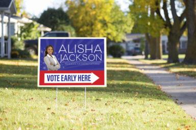 Political Yard Signs