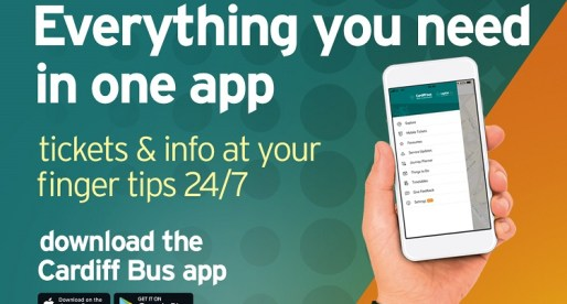 Cardiff Bus Re-launched App Offers Cheaper Tickets and More