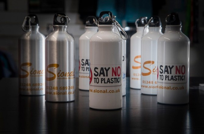 David Attenborough Backed Campaign Prompts Demand for North Wales Company's Metal Drinks Bottles