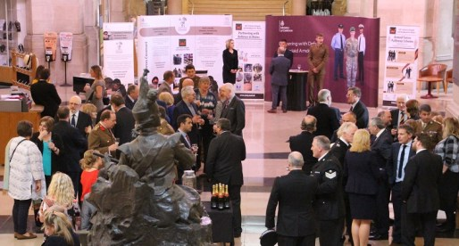 National Museum Wales Officially Re-Pledge Support to the Armed Forces Community