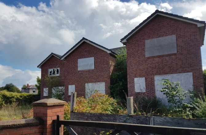"""Wrexham's """"Eyesore"""" Buildings at Heart of Village to be Revamped"""