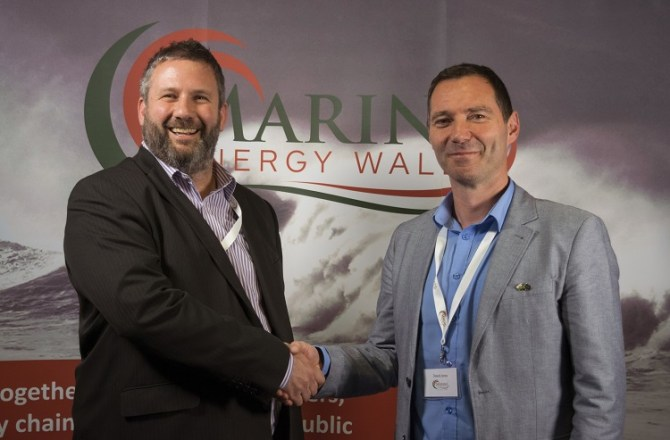 Marine Hub Cornwall Agrees New Collaboration with Pembrokeshire Based Marine Energy Wales