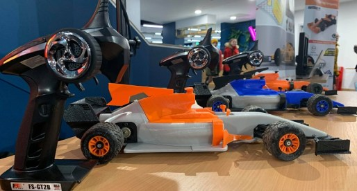Launch for Formula 3D Circuit Race in Carmarthenshire