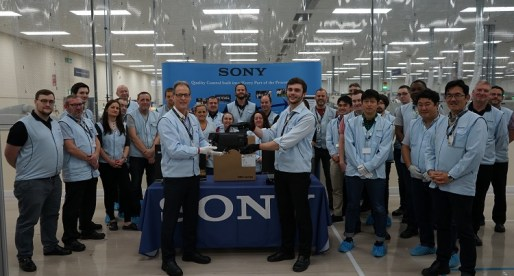 Sony UK TEC in Pencoed Produces 'Next Generation' 4K Cameras