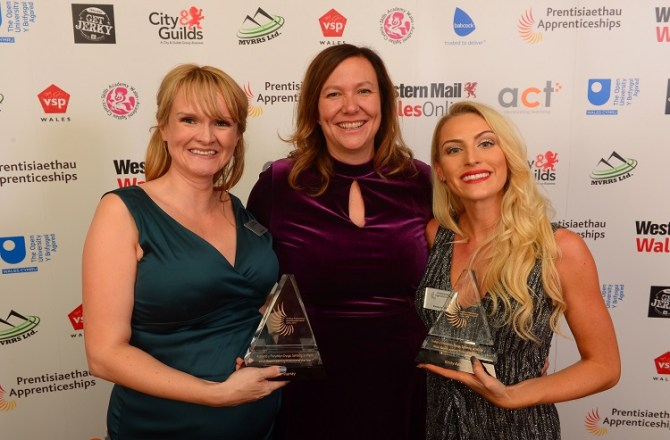 Double for Learning Provider as Staff Triumph at National Awards