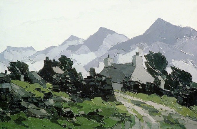 National Library's Kyffin Williams Exhibition Opens