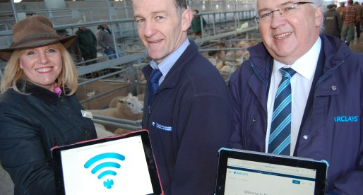 Monmouthshire Livestock Market Embraces the Digital Revolution with Support from Barclays