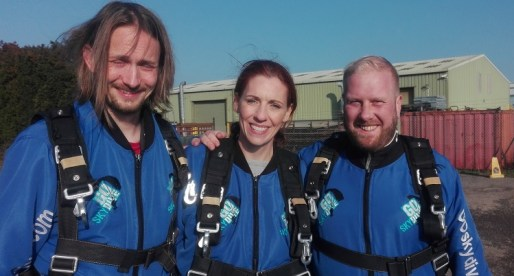 IT Engineers Complete Skydive for Homeless Charity