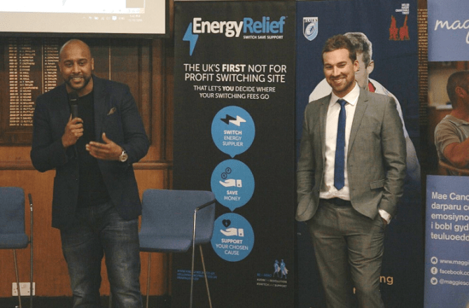 Cardiff Blues and Energy Relief Join Forces to Help Local People to Switch, Save and Support