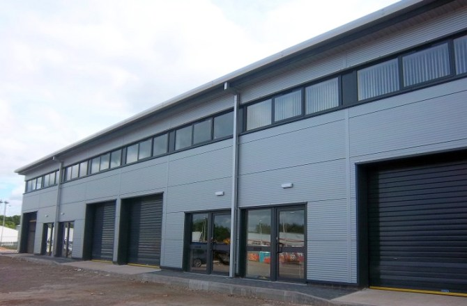 Atlantic Point Workshop Units Completed and Sold in Barry