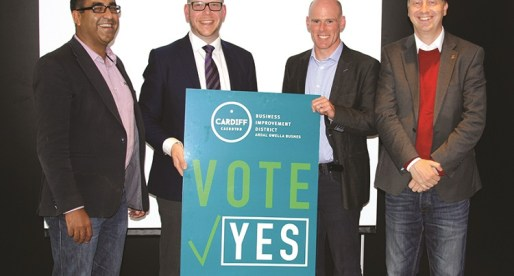 Cardiff Votes 'YES' to the Business Improvement District