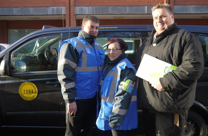 Taxi Marshals Hailed For A Decade of Making Swansea City Centre Safer