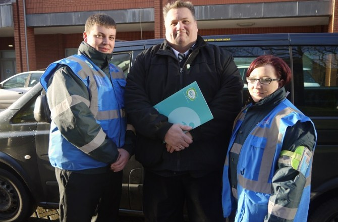 Taxi Marshals Hailed for Making Swansea City Centre Safer