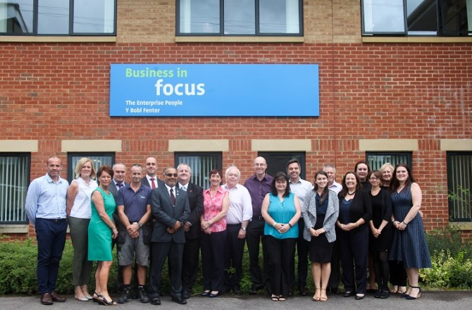 South Wales Enterprise Specialists Heads For 100